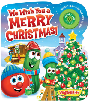 Children's book 'We Wish You a Merry Christmas' by VeggieTales